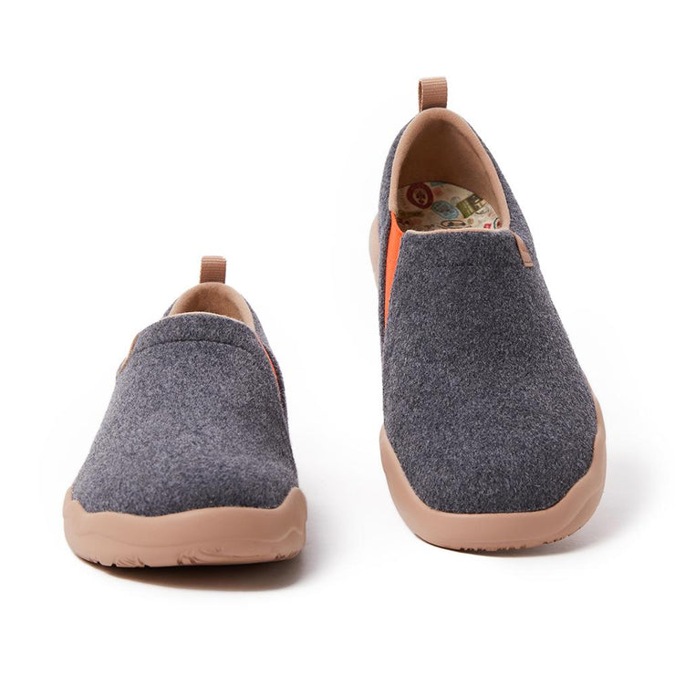 Toledo II Deep Grey Wool Men
