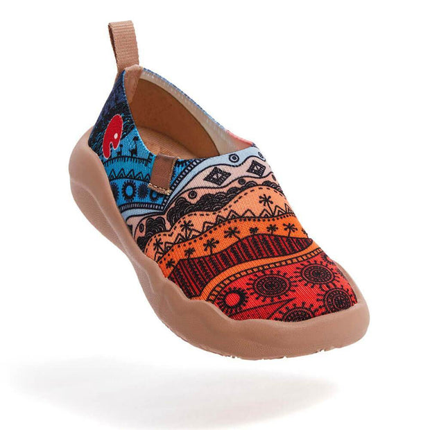 UIN Footwear Kid Africa In My Eyes Kid Canvas loafers