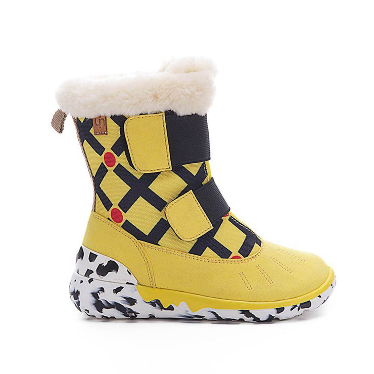 UIN Footwear Kid Ashmole Boots Yellow Kids Canvas loafers