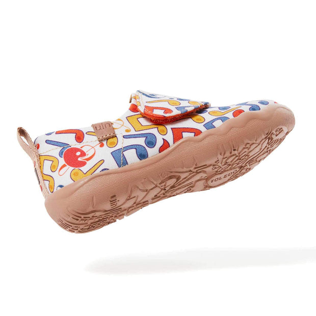 UIN Footwear Kid Floating Note Kid Canvas loafers