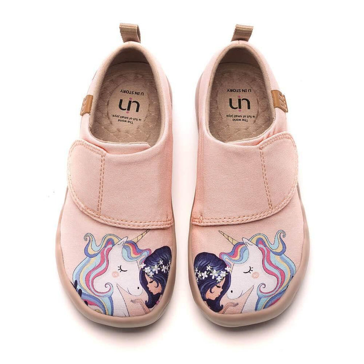 GIRL AND UNICORN Canvas Kid