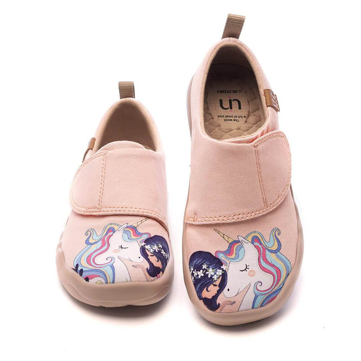 UIN Footwear Kid GIRL AND UNICORN Canvas Kid Canvas loafers