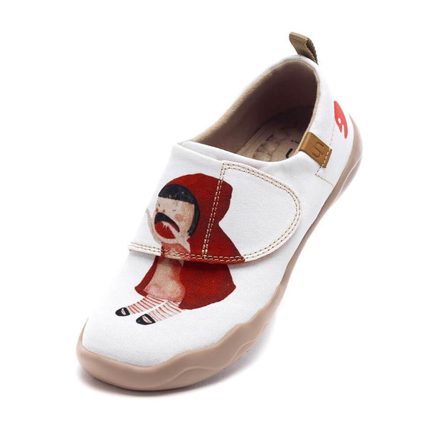 UIN Footwear Kid Little Red Kid Canvas loafers