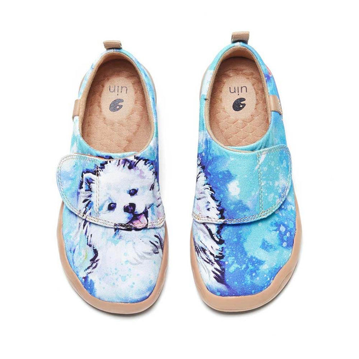UIN Footwear Kid Samoyed Kid Canvas loafers