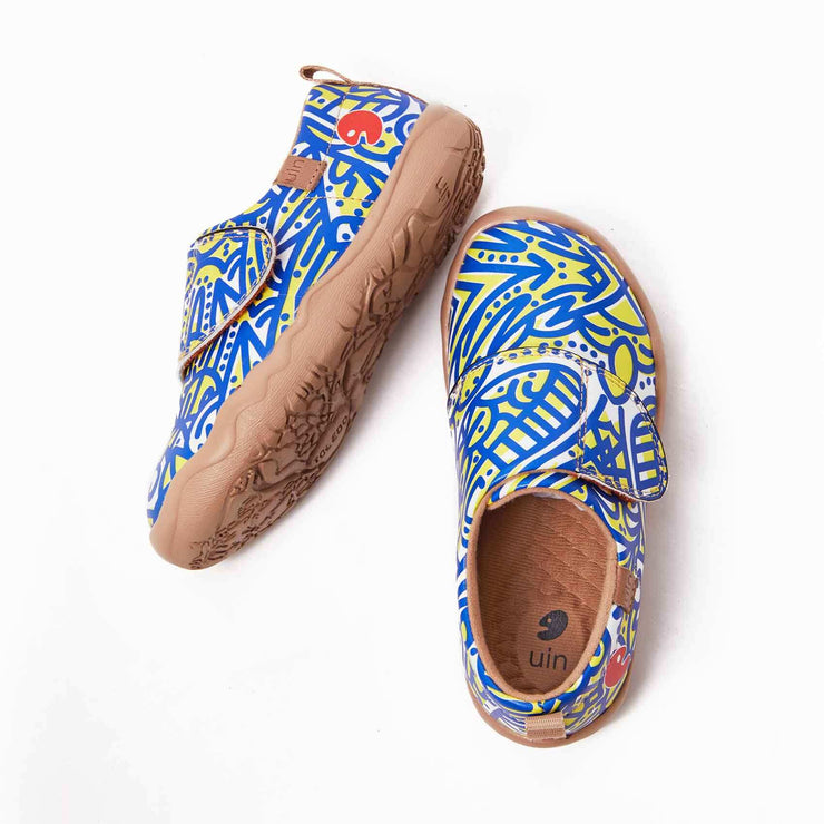 UIN Footwear Kid Seaside Coconut Grove Kid Canvas loafers