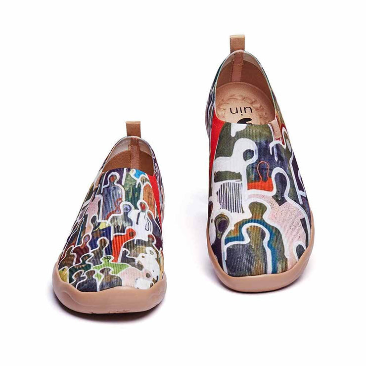 UIN Footwear Men Be Lost Canvas loafers