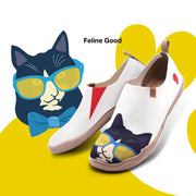 UIN Footwear Men Feline Good Canvas loafers
