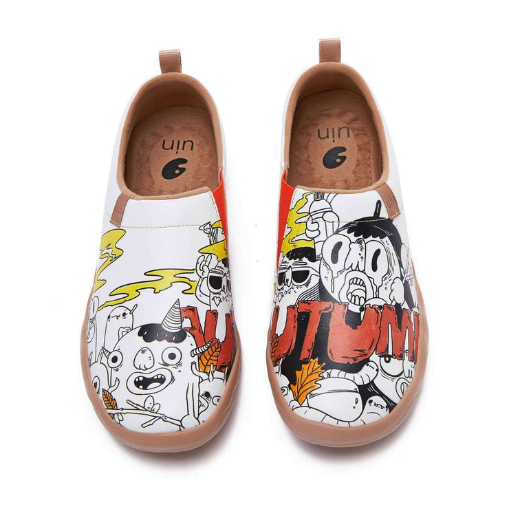 UIN Footwear Men Fight with Insect Men Canvas loafers