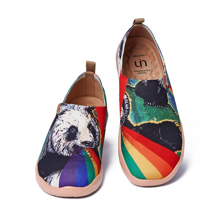 UIN Footwear Men He Must Be Crazy Canvas loafers