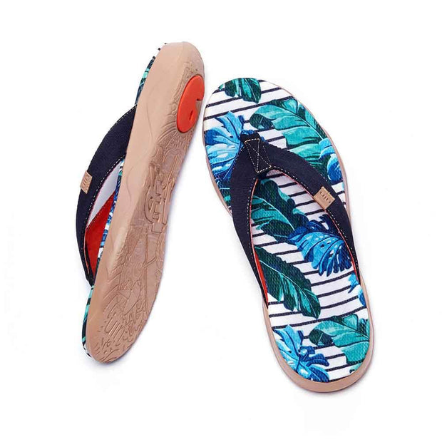 UIN Footwear Men Jungle Men Majorca Flip Flops Canvas loafers
