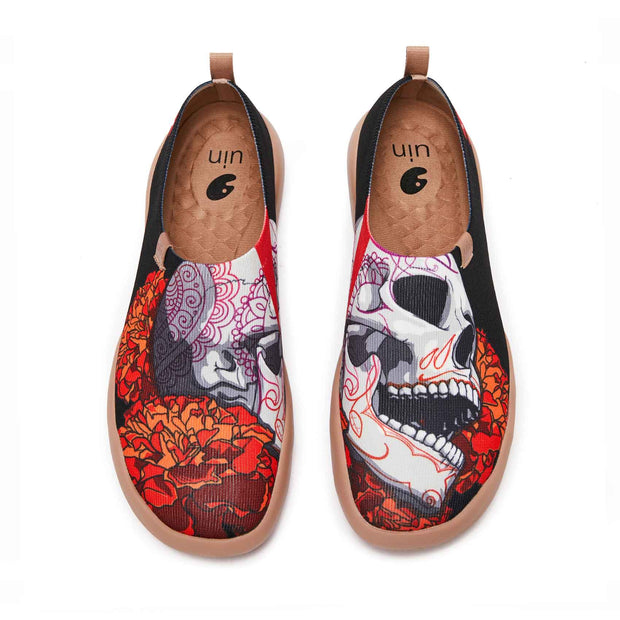 UIN Footwear Men Skeleton Men Canvas loafers
