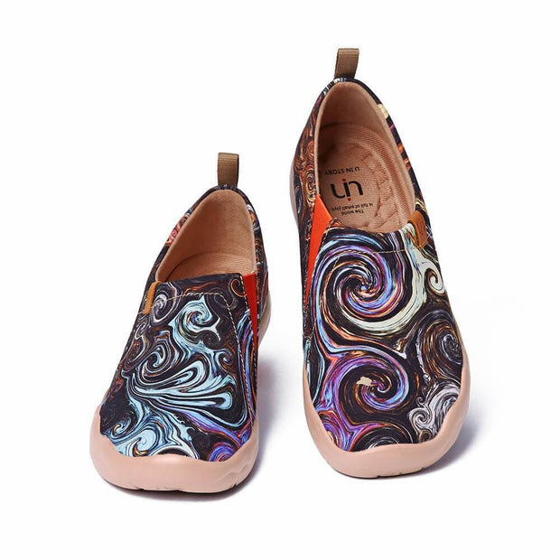 UIN Footwear Men Starry Night II Canvas loafers