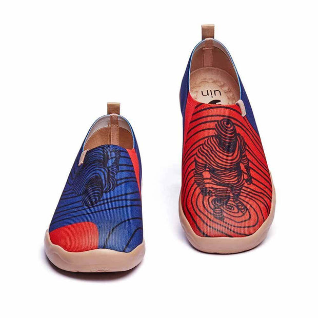 UIN Footwear Men Superman Canvas loafers