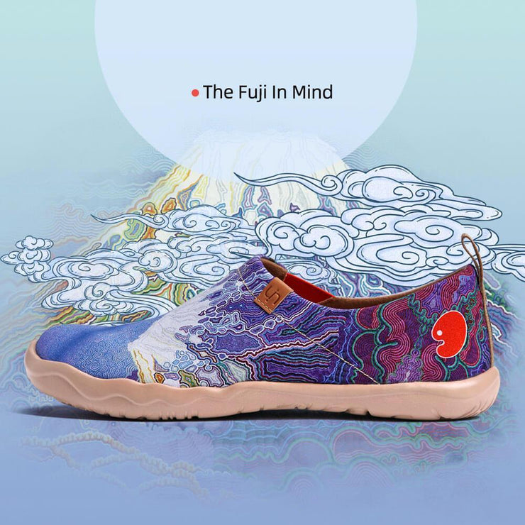 UIN Footwear Men The Fuji In Mind Canvas loafers