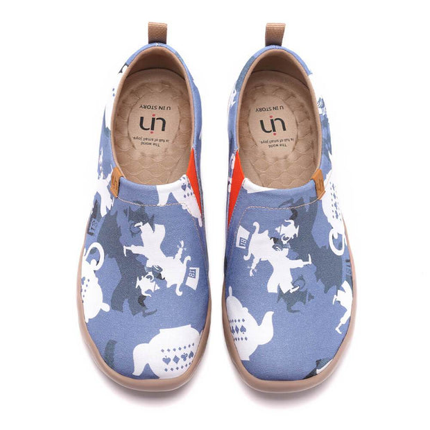 UIN Footwear Men The Mad Hatter Canvas loafers