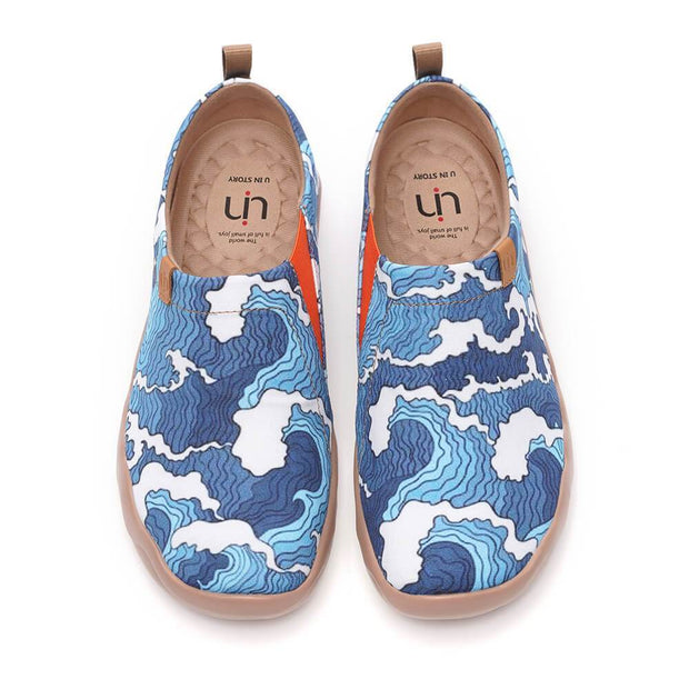 UIN Footwear Men Wave Canvas loafers