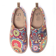 UIN Footwear Women BLOSSOM Paisley Pattern Canvas Shoes for Women (Pre-sale) Canvas loafers