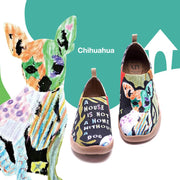 UIN Footwear Women Chihuahua Canvas loafers