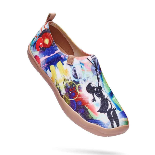 UIN Footwear Women Girl's Little World Canvas loafers