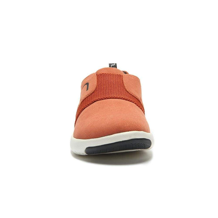 UIN Footwear Women Guyana Orange Canvas loafers