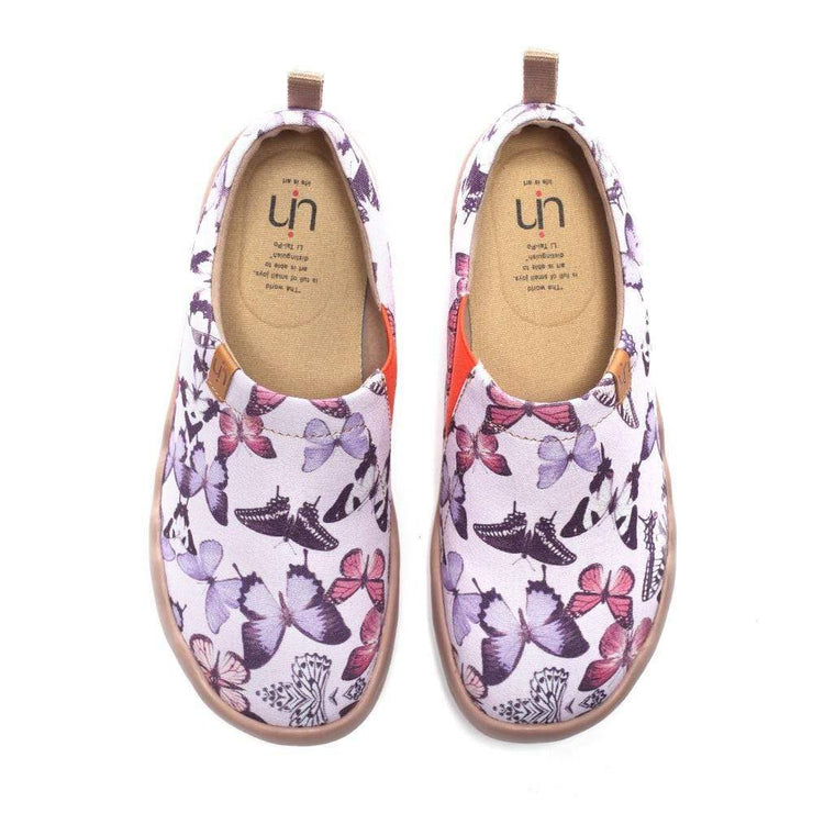 UIN Footwear Women In Pursuit of Purple Women Casual Shoes Canvas loafers