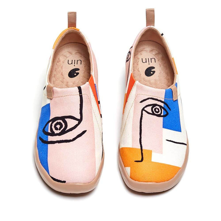 UIN Footwear Women Look At Me Canvas loafers