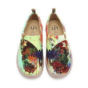UIN Footwear Women MOTTLED BUTTERFLY Unique Artistic Women Flats (Pre-sale) Canvas loafers