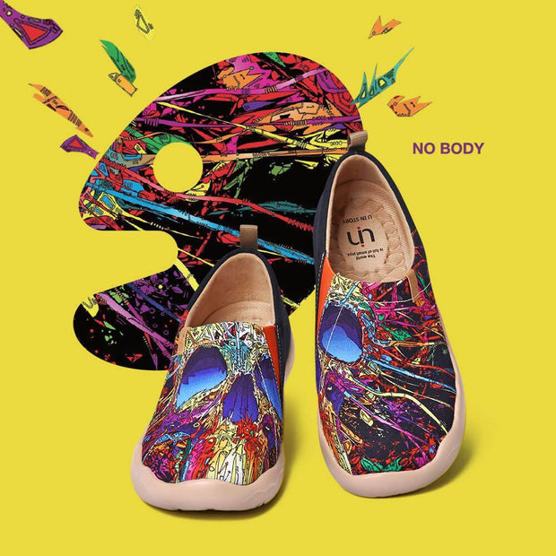 UIN Footwear Women No Body Men Canvas loafers