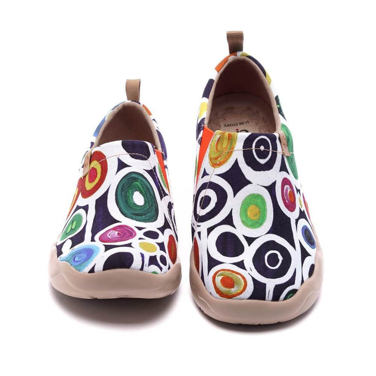 UIN Footwear Women Oopsie Daisy Canvas loafers