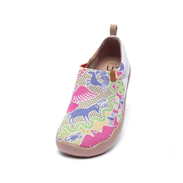 UIN Footwear Women Oriental Fairyland Canvas loafers