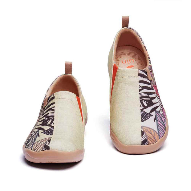 UIN Footwear Women Palm Vibe Canvas loafers