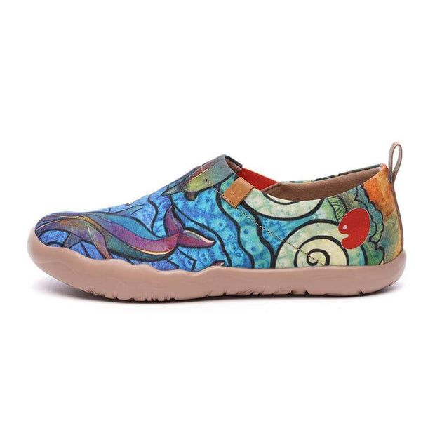 UIN Footwear Women Porpoise Canvas loafers