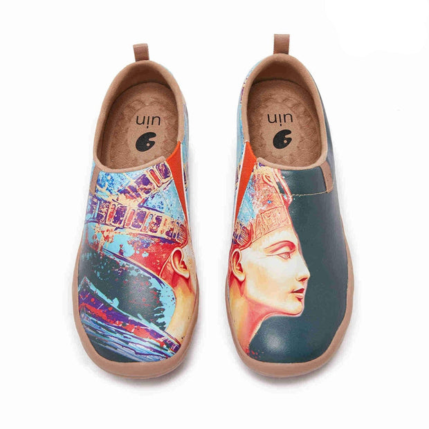 UIN Footwear Women (Pre-sale) Nefertiti Canvas loafers