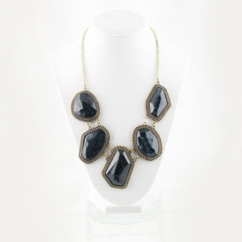 Designer Inspired Black Stone