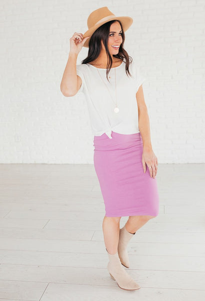 Everyday Pencil Skirt