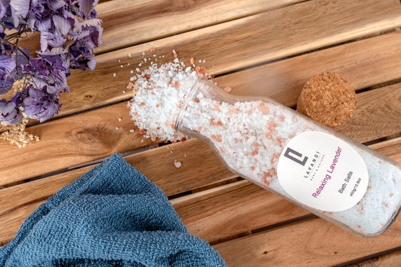 Lavandi Body & Nature Bath Salts - Makers Market Shop