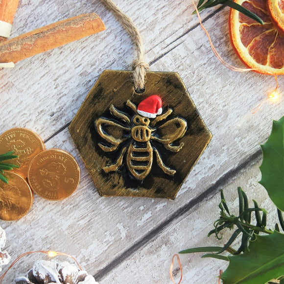 Bee Mancunian - Tree Decorations - Makers Market Shop