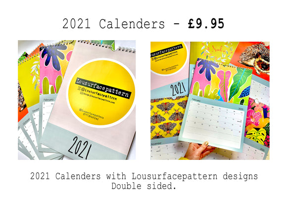 Lousurfacepattern - Calendar - Makers Market Shop