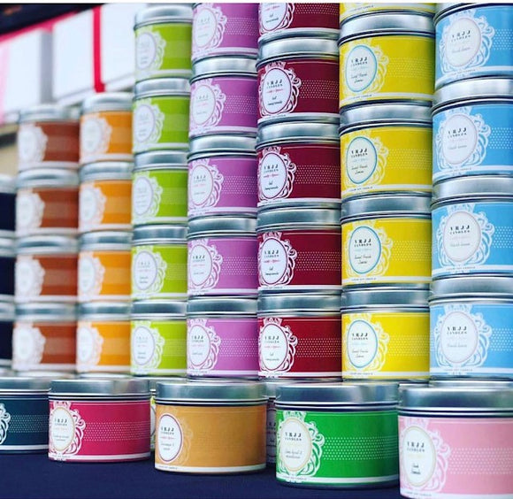 VRJJ Candles - Makers Market Shop
