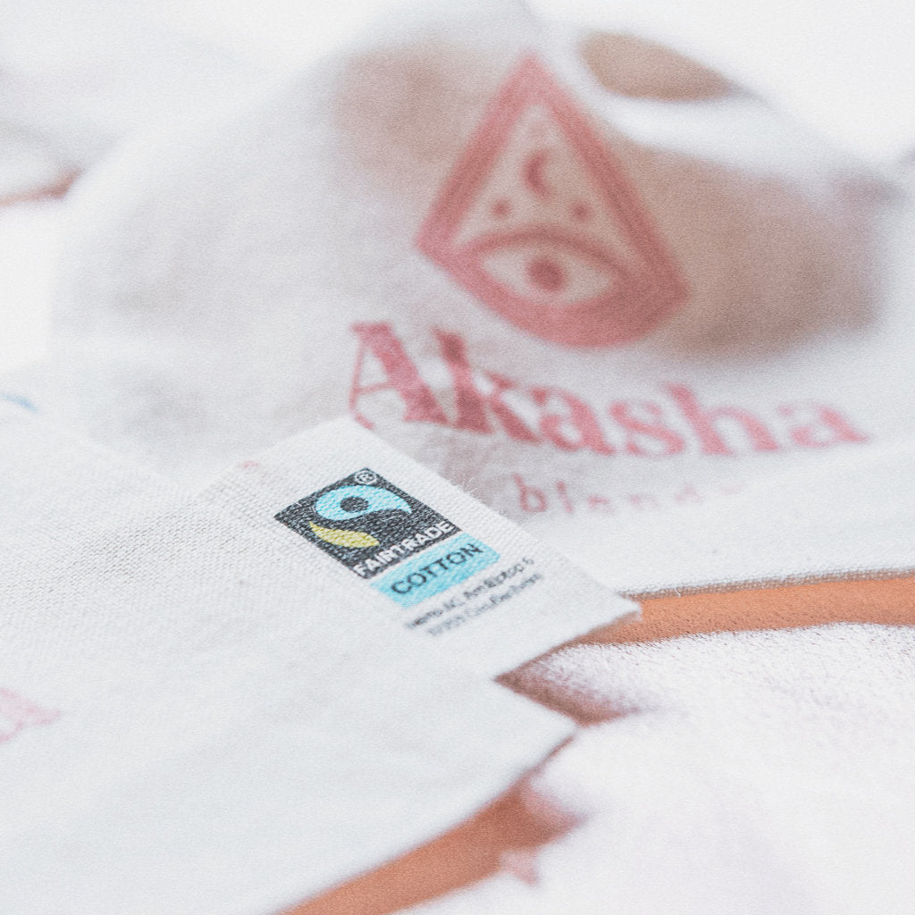 Akasha blends Fairtrade cotton bag for the Bath bliss
