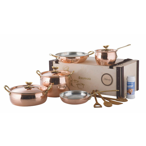 Ruffoni Historia 8 Piece Cookware Set