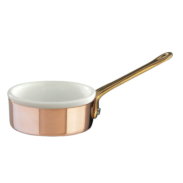 Small saucepan with porcelain insert from the Cremeria collection by Ruffoni