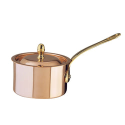 Lidded saucepan from the Cremeria collection by Ruffoni