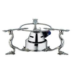 Stainless steel, gas candle warmer