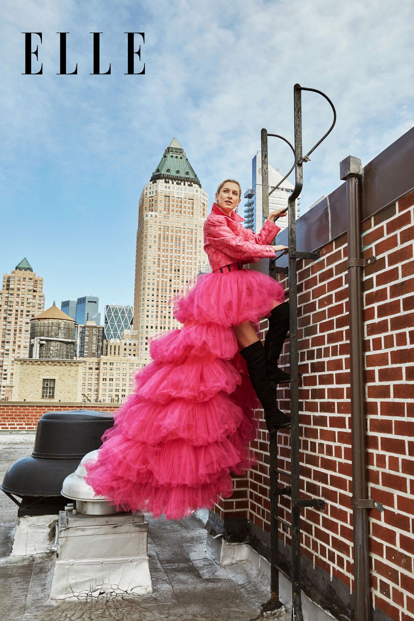 Princess Dress by Morphine Fashion featured in Elle Magazine NYC