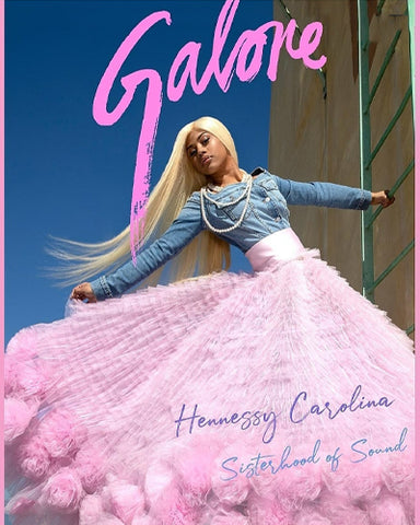 Morphine Fashion on the cover of Galore