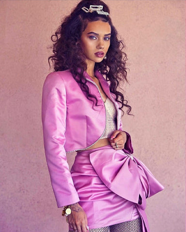 Pink suit set by Morphine Fashion