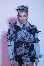 Load image into Gallery viewer, Blossom Couture Denim Jacket