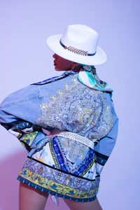 Lima Denim Couture Jacket by Morphine Fashion