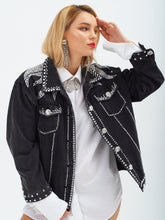 Load image into Gallery viewer, Castle Rock Denim Jacket by Morphine Fashion